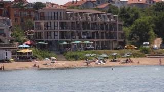 Chernomorets Bulgaria  city photos gallery : The central beach in the resort of Chernomorets, Bulgaria.