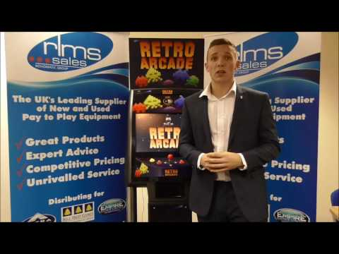 Retro Arcade from Fatcat Softworks being Demonstrated by Freddie Shreeve from RLMS Sales