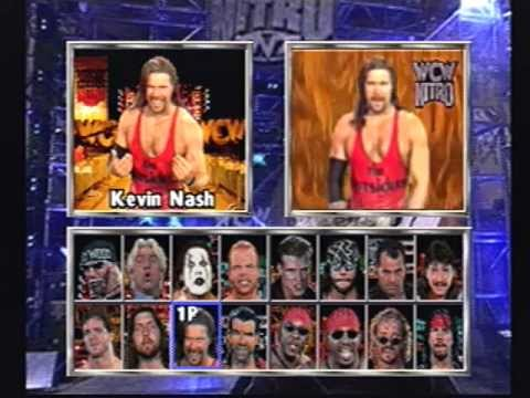 wcw nitro playstation game