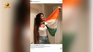 Actress Priyanka Chopra was being trolled for not wearing sari on independence day as people warned her in social websites not ...