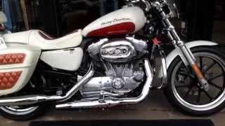 10. 2012 HARLEY-DAVIDSON SPORTSTER SUPERLOW X833L @ West Coast Harley-Davidson, Glasgow, Scotland