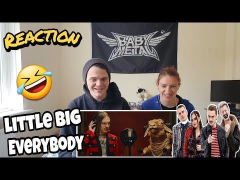LITTLE BIG - EVERYBODY (Little Big Are Back) (Official Music Video) Reaction !!