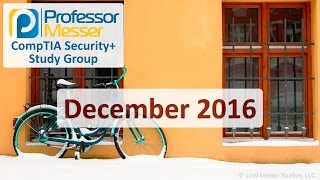 Security+ Training Course Index: http://professormesser.link/sy0401 Professor Messer's Course Notes: http://professormesser.link/sy0401cn Frequently Asked Qu...