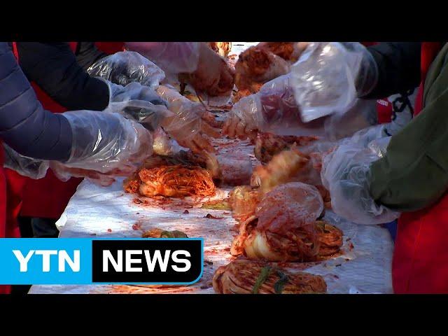 2019. 11. 08  YTN NEWS - 절임배추의 고장 괴산 김장축제