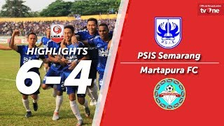 Video PSIS Semarang vs Martapura FC: 6-4 All Goals & Highlights - Liga 2 MP3, 3GP, MP4, WEBM, AVI, FLV April 2018