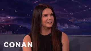 Lauren Graham On Being The Only Female Late Night Host  - CONAN on TBS