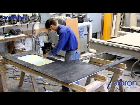 Изготовление столешниц из акрилового камня своими руками