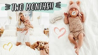 TWO MONTH BABY UPDATE! by Aspyn + Parker