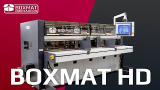 Boxmat HD - automatic all-in-one box making machine