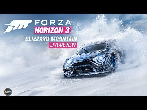 Forza Horizon 3 Blizzard Mountan Expansion Live-Review (видео)