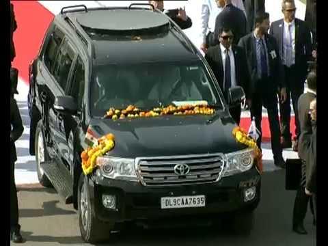 Ahmedabad gives a rousing reception to PM Modi and Israeli PM Netanyahu