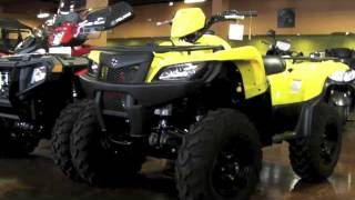 4. 2012 Suzuki KingQuad 500 AXI 4X4 ATV - Review & Walk Around Suzuki King Quad 500AXI