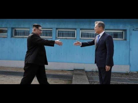 Panmunjom: Kim Jong-un und Moon Jae-in eröffnen his ...
