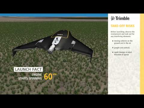 Flying the Trimble UX5 in Agriculture