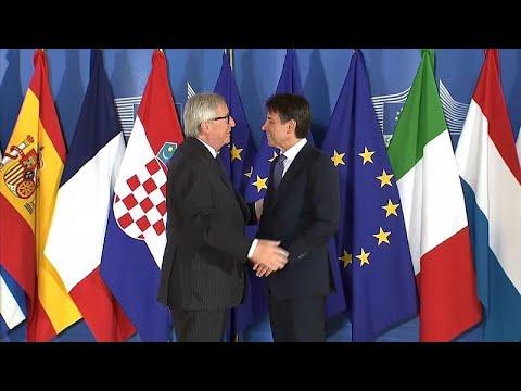 Juncker: Italien bleibt im Euro -