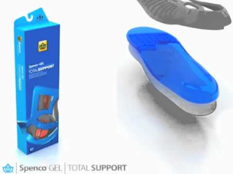Spenco GEL Total Support Insoles at www.TheInsoleStore.com