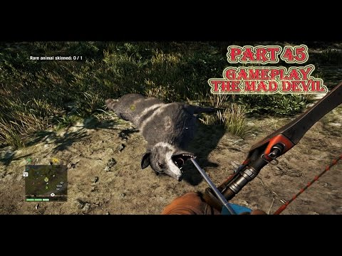 Far Cry 4 Story Gameplay PC (High settings-NVIDIA GTX 760) – Part 45 Rare Mad Devil wolf