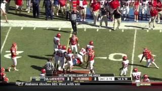 Jordan Reed vs Louisiana-Lafayette (2012)