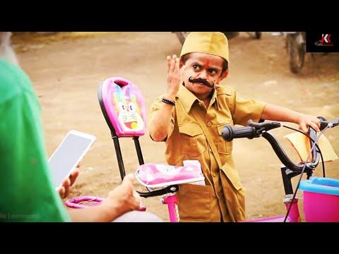 "CHOTU DADA PARCEL WALA |""छोटू दादा पोस्टमैन"" Khandesh Hindi Comedy | Chotu Comedy Video"