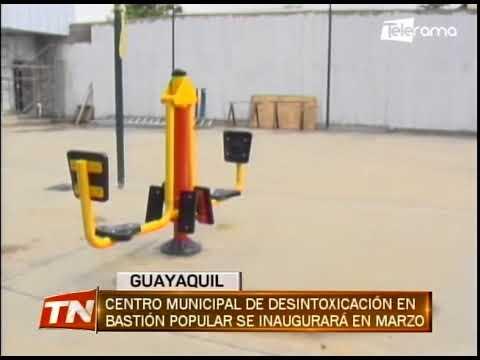 Centro municipal de desintoxicación en Bastión Popular se inaugurará en Marzo