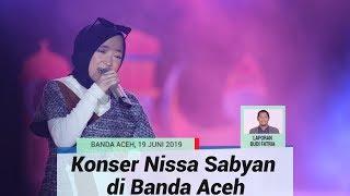 Dihadiri Ribuan Orang, Ya Maulana Nissa Sabyan Hipnotis Penggemarnya di Banda Aceh