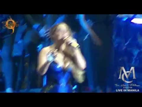 hero - MARIAH CAREY Live in Manila! The Elusive Chanteuse Show SM Mall of Asia Arena October 28, 2014.
