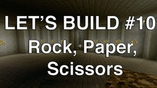 Lets Play Tuesdays - Let's Build in Minecraft - Rock, Paper, Scissors
