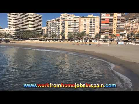 Work From Home Online Jobs in Spain 2015