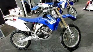 5. 2013 Yamaha WR250F - Walkaround - 2013 Montreal Motorcycle Show