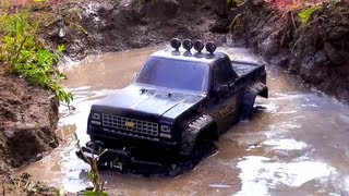 RC ADVENTURES - TTC 2012 - Eps 3 - SWAMP RUN - Scale 4x4 Truck Challenge - Rude Boyz RC