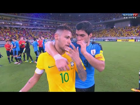 Neymar vs Uruguay (Home) 15-16 HD 720p (25/03/2016)