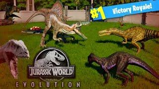 Video DINOSAUR BATTLE ROYALE! Jurassic World Evolutions (Fallen Kingdom Gameplay) MP3, 3GP, MP4, WEBM, AVI, FLV Januari 2019