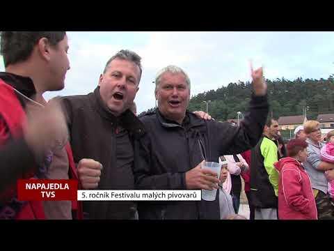 TVS: Napajedla - Festival malých pivovarů