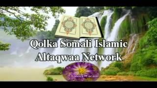 Tafsiirka Quraanka Suuratu Cankabut aayadaha 53 - 63 by Sh. Xasan Ibraahim Ciise