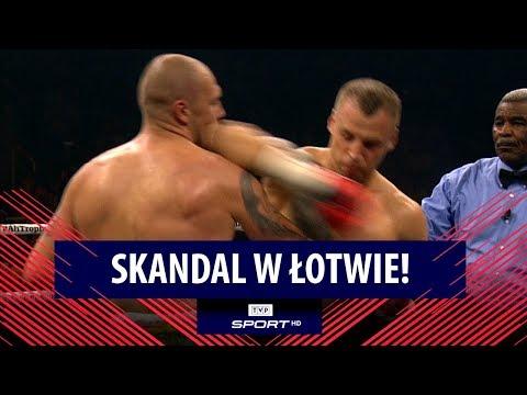 Skandal w Łotwie! Mairis Briedis uderzył Krzysztofa Głowackiego łokciem