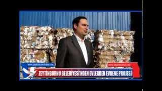 Zeytinburnu Belediyesi'nden Evlerden Evrene Projesi Kapsamında Geri Dönüşüm