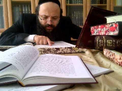 11.  Lois sur les bénédictions - Pourim - Rav Ishay