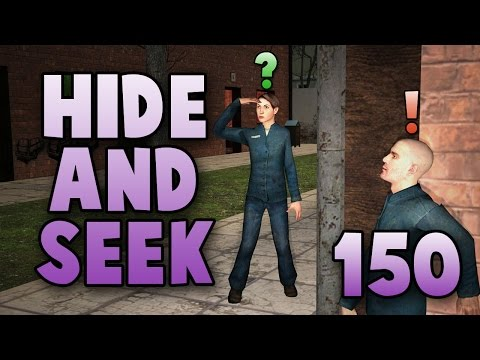 hide - We decide to hide out on the beach to enact some revenge on Adam while he seeks. Then later we end up on a map that's seemingly a giant factory of some sort floating in the sky? Whatever it...