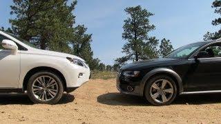 2013 Audi Allroad Vs Lexus RX 350 Off-Road Mashup Drive&Review