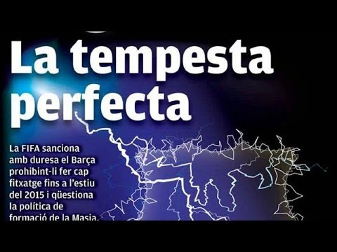 "video review - 'The perfect storm for Barcelona' -€"" James Richardson's European football papers video review Subscribe to the Guardian HERE: http://bitly.com/UvkFpD AC Jim..."