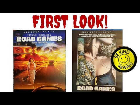 First Look: Road Games Blu-ray (Scream Factory)