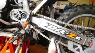 8. DRZ 400 Chain & Sprockets Replacement