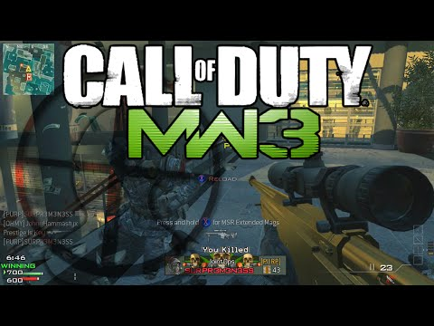 L118A - More sniping gameplay for those of you who demanded it! This time, we take to FFA and attempt to win with style. I personally prefer the L118A over the MSR but perhaps I could also do a FFA...