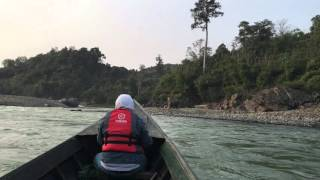 Putao Myanmar  city photo : Boat trip in Putao, Myanmar