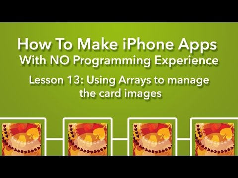 How To Make an App – Ep 13 – Introducing Arrays in Swift