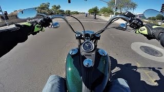 10. 2016 Harley Davidson Dyna Street Bob - Test Ride Review