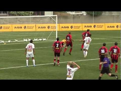 Canterbury Utd v Waitakere Utd  ASB PREMIERSHIP highlights(18.12.2011)