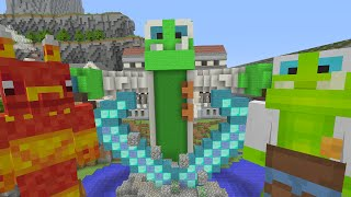 Minecraft Xbox - Survival Madness Adventures - Frog Squad Adventures [379]