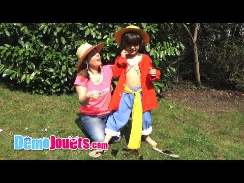 Test Déguisement Luffy de Caritan - Démo Jouets