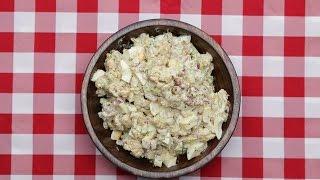 Cauliflower Potato Salad by Tasty